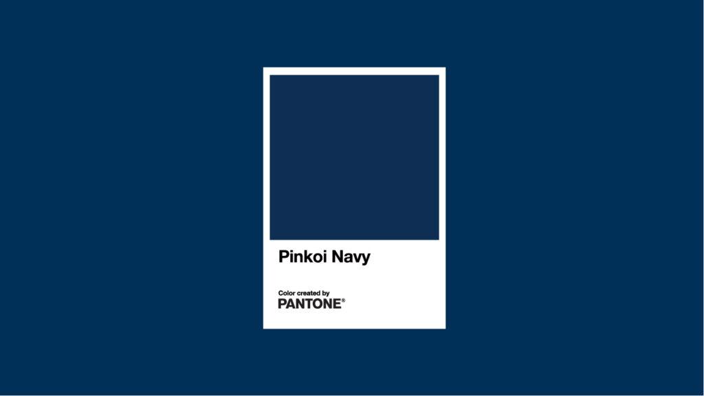 パントン Pantone ネイビー Pinkoiネイビー ブルー