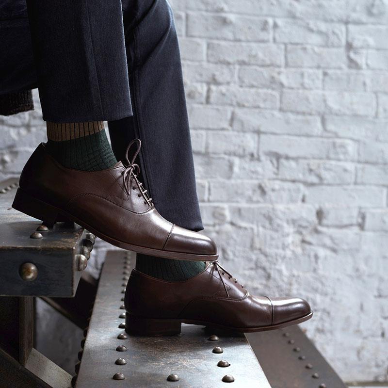 男性へのプレゼント 靴 レザーシューズ ギフト オーダーメイド