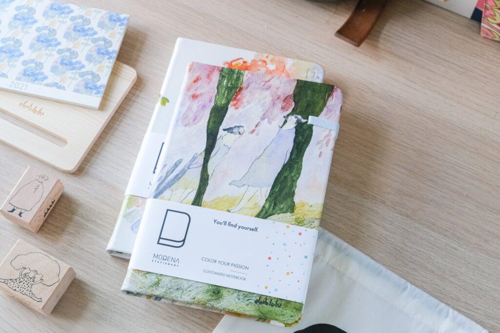 ノートブック|あなたと私| dodolulu xModena共同製品 ノート
