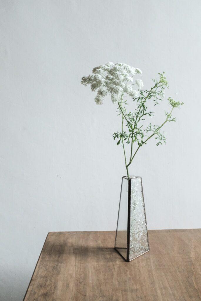 ベゴニアフラワー 花瓶 一輪挿し