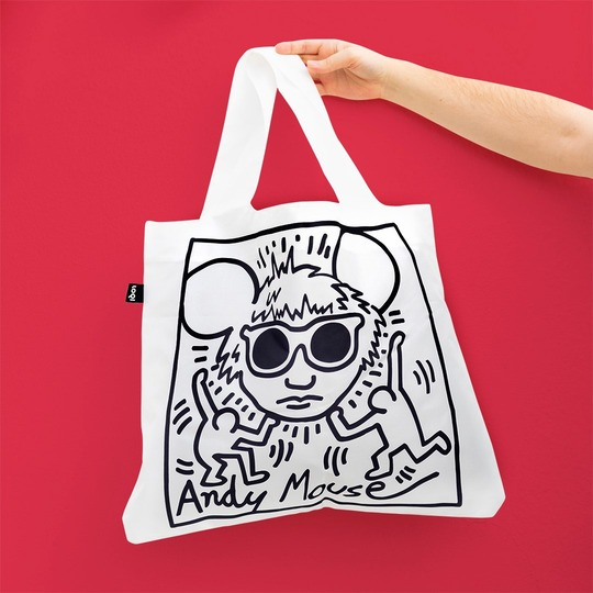 LOQI Keith Haring 環保袋 Andy Mouse