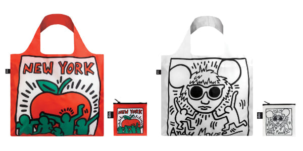 LOQI Keith Haring 環保袋 New York Andy Mouse