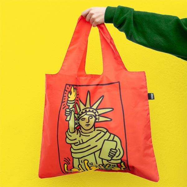 LOQI Keith Haring 環保袋 New York