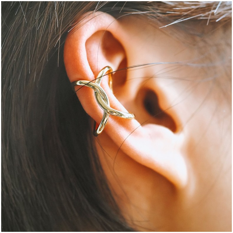 925 純銀蝴蝶型 耳骨夾 Ear Cuff