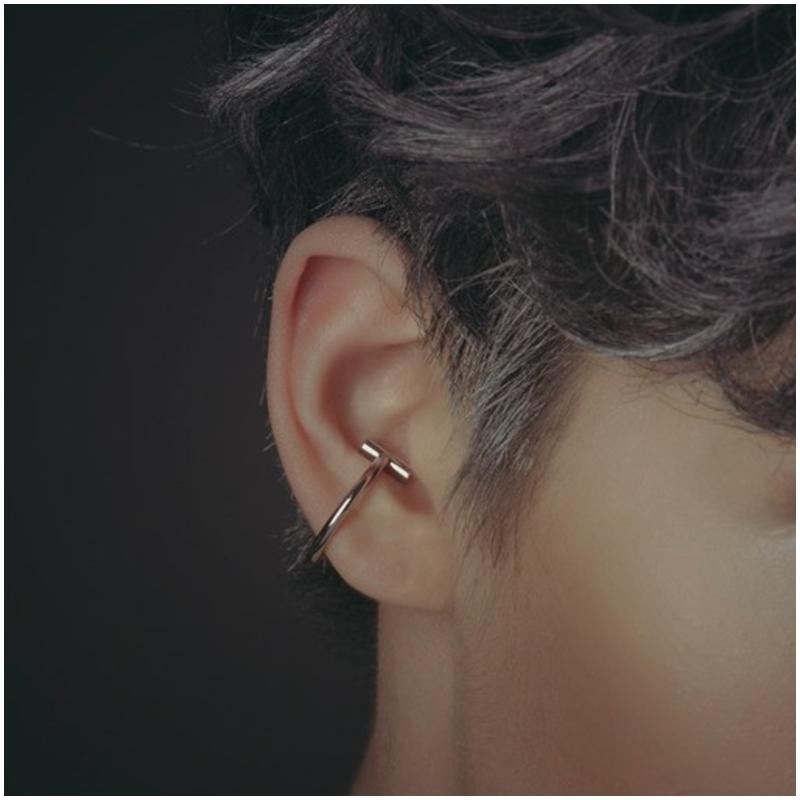 簡約 T 型 耳骨夾 Ear Cuff