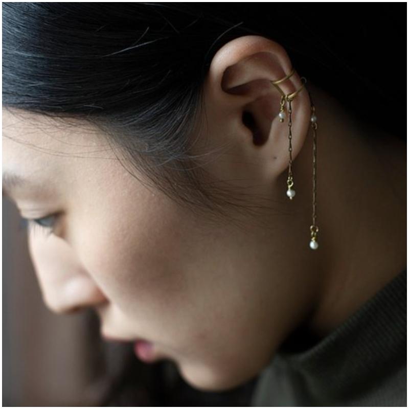可調式鏈條 耳骨夾 Ear Cuff