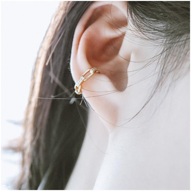 925 純銀鏈扣 耳骨夾 Ear Cuff