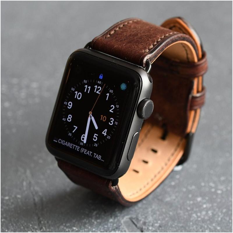 父親節禮物 Apple watch 皮革錶帶
