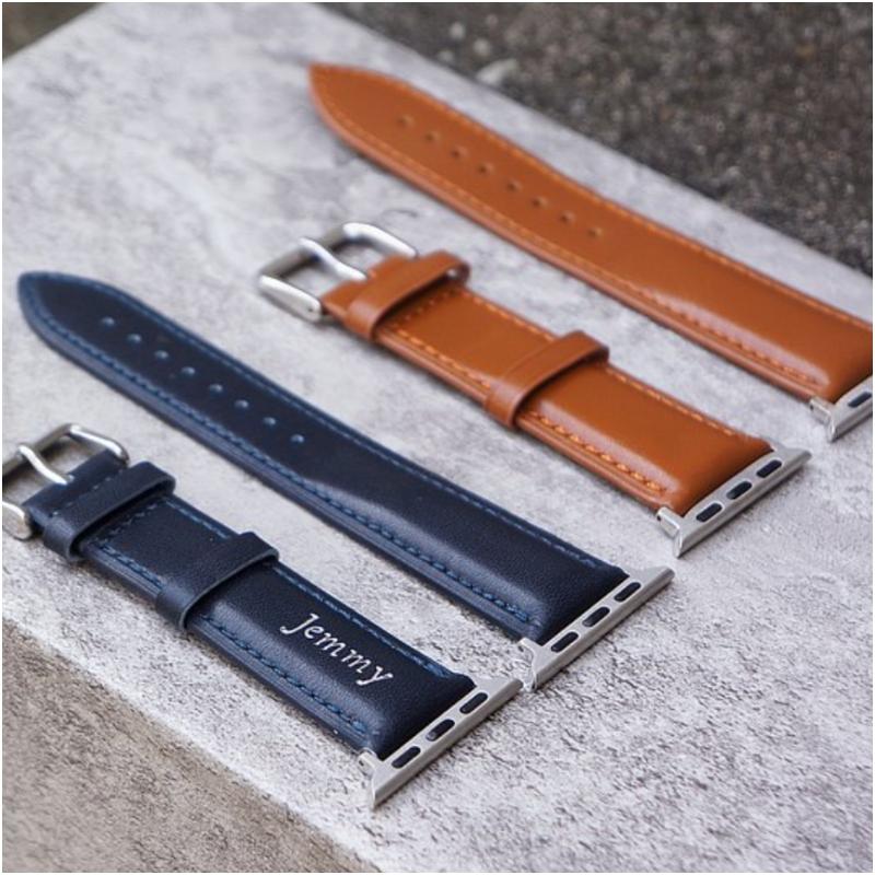 父親節禮物 Apple Watch 真皮錶帶(按上圖訂購)