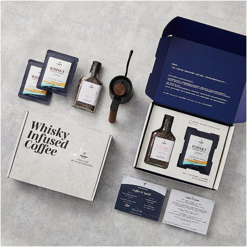 哈本咖啡 - 威士忌酒漬咖啡禮盒