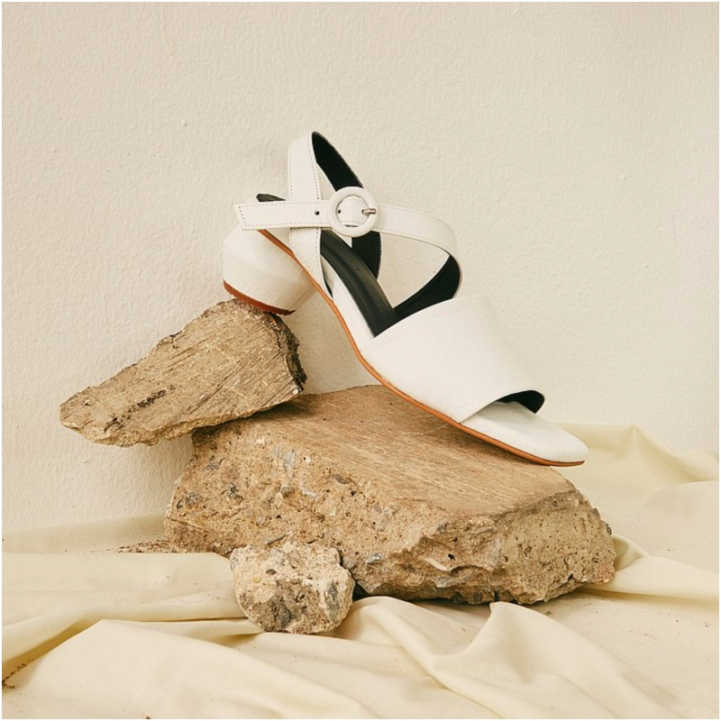 BEETROOT 露趾高跟鞋