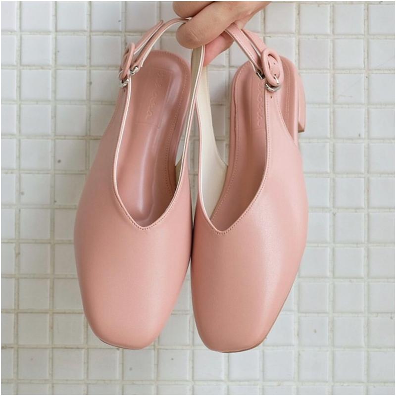 中跟穆勒鞋