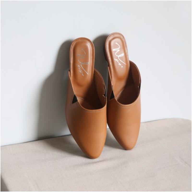 高跟穆勒鞋
