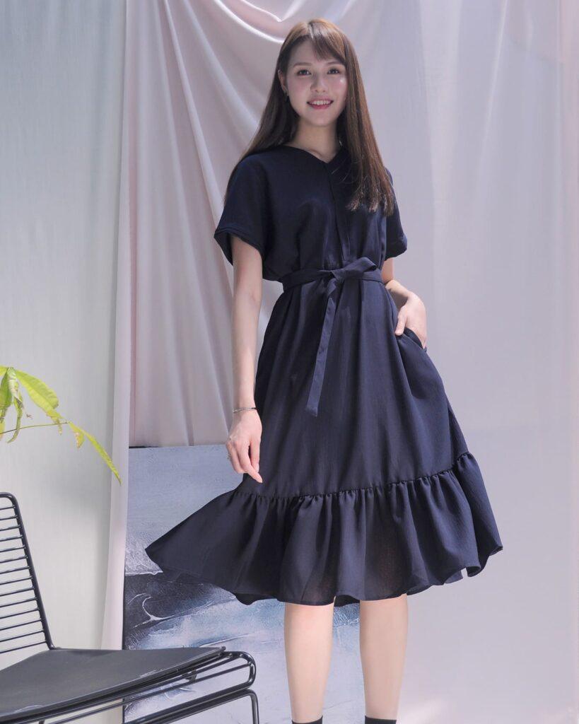2021夏天穿搭 連身裙 連身裙穿搭 A字連身裙