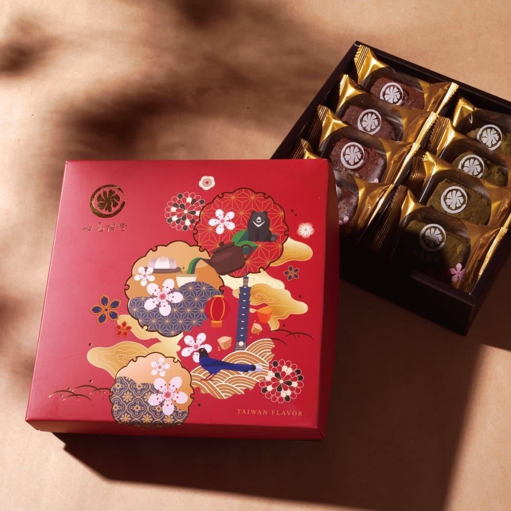 散水餅 散水餅獨立包裝 七見櫻堂 三明治 餅