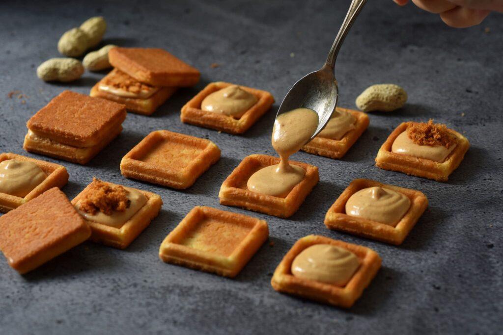 散水餅 散水餅獨立包裝 簡單李 夾心餅