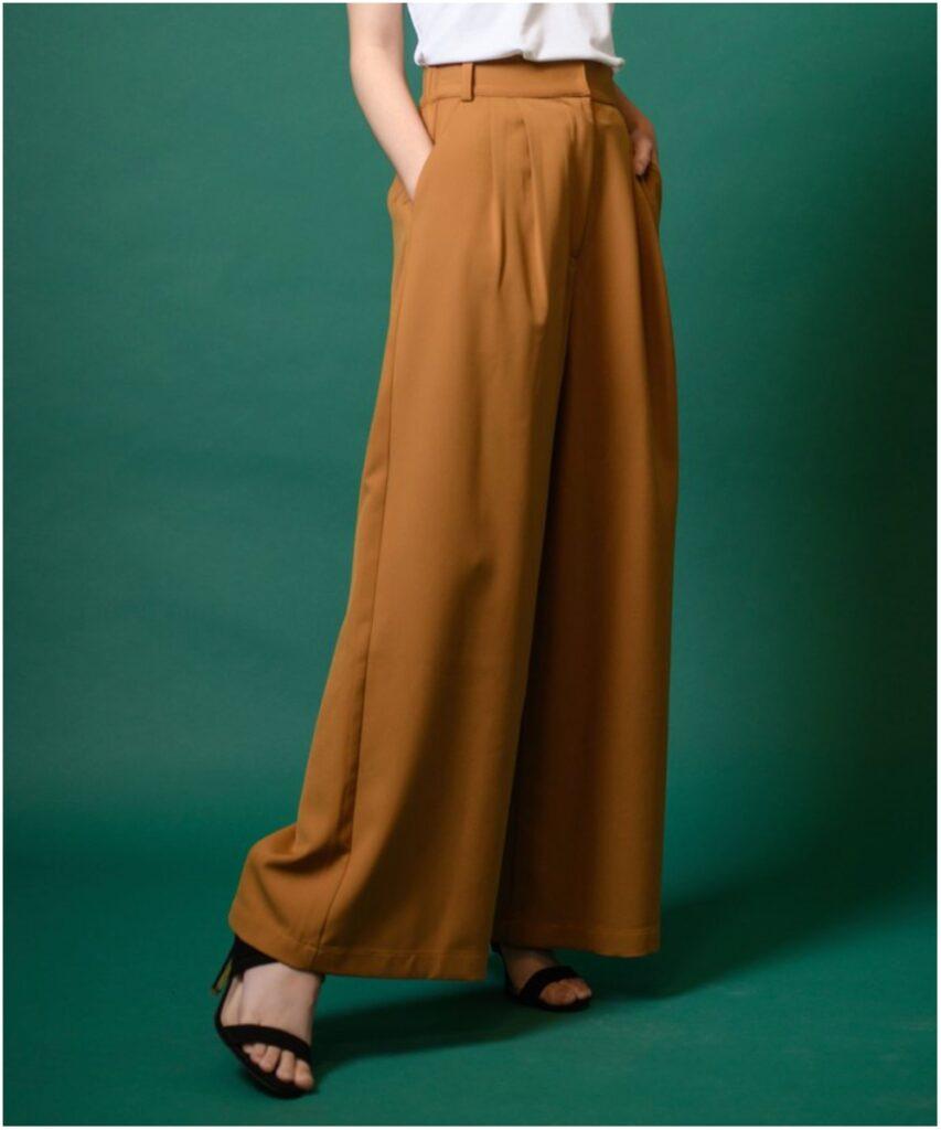 寬版長褲 (按上圖訂購)