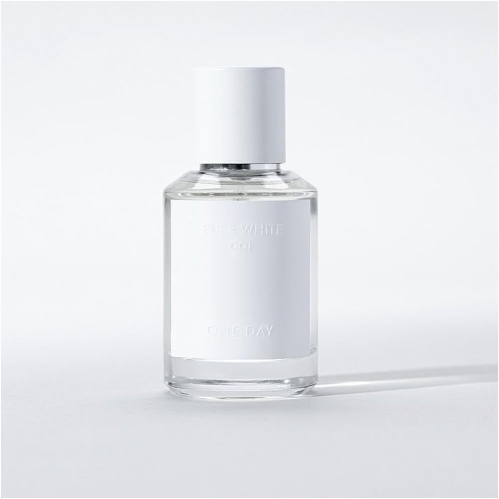 香水推薦 ONE DAY  | 001 PURE WHITE