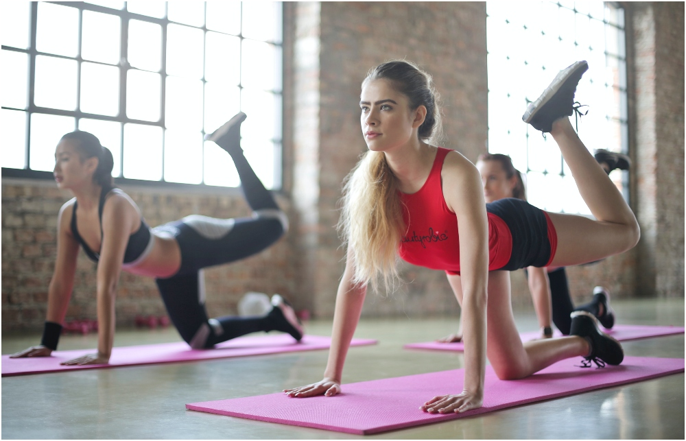 普拉提運動結合瑜伽、舞蹈、體操訓練,可重點訓練。