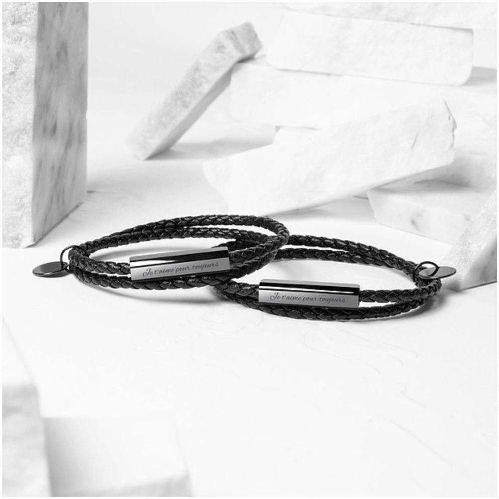 Ricordi 陶瓷編織皮革手環(按上圖訂購)