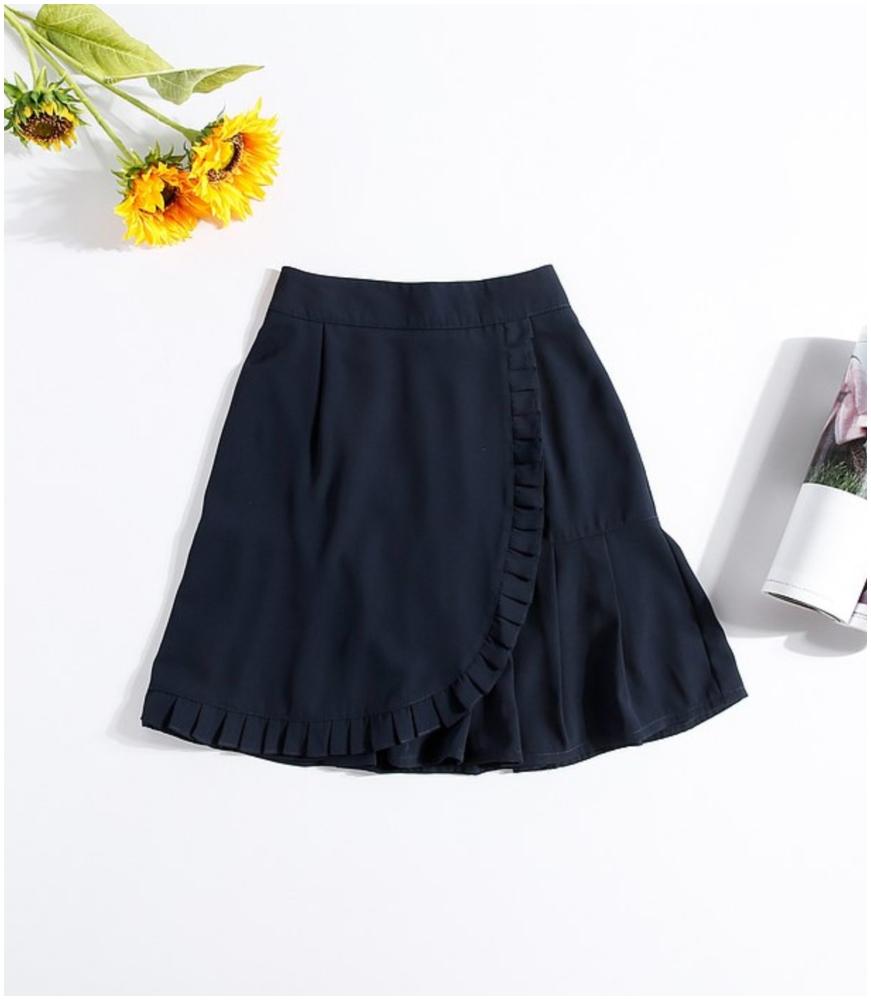 百摺半截短裙(按上圖訂購)