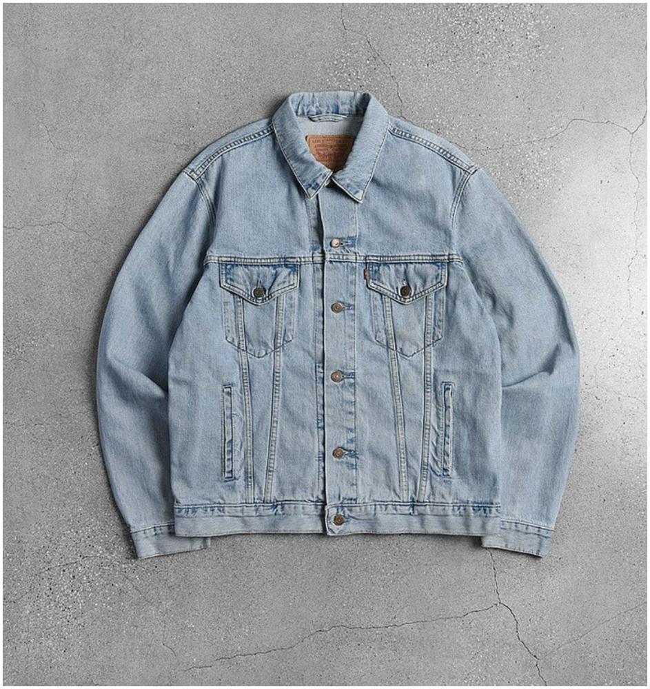 Levi's 美式牛仔外套(按上圖訂購)