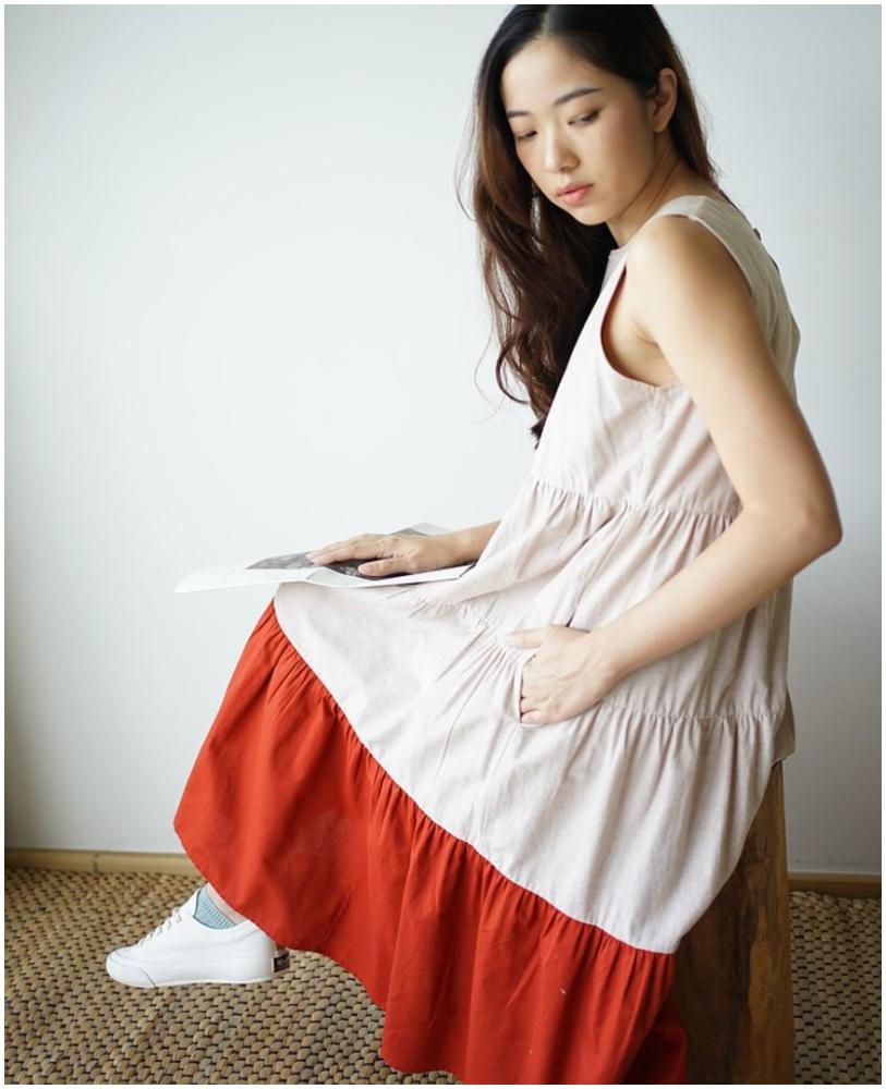 TONGYIB 洋裝 - 米色(按上圖訂購)
