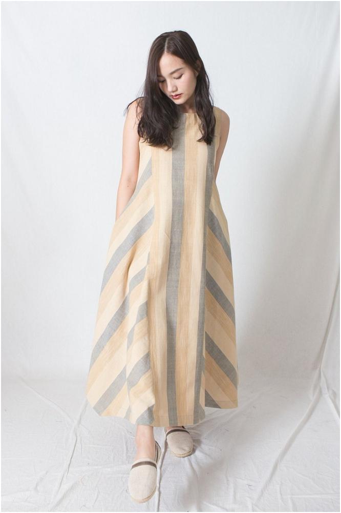 Sleeveless dress(按上圖訂購)