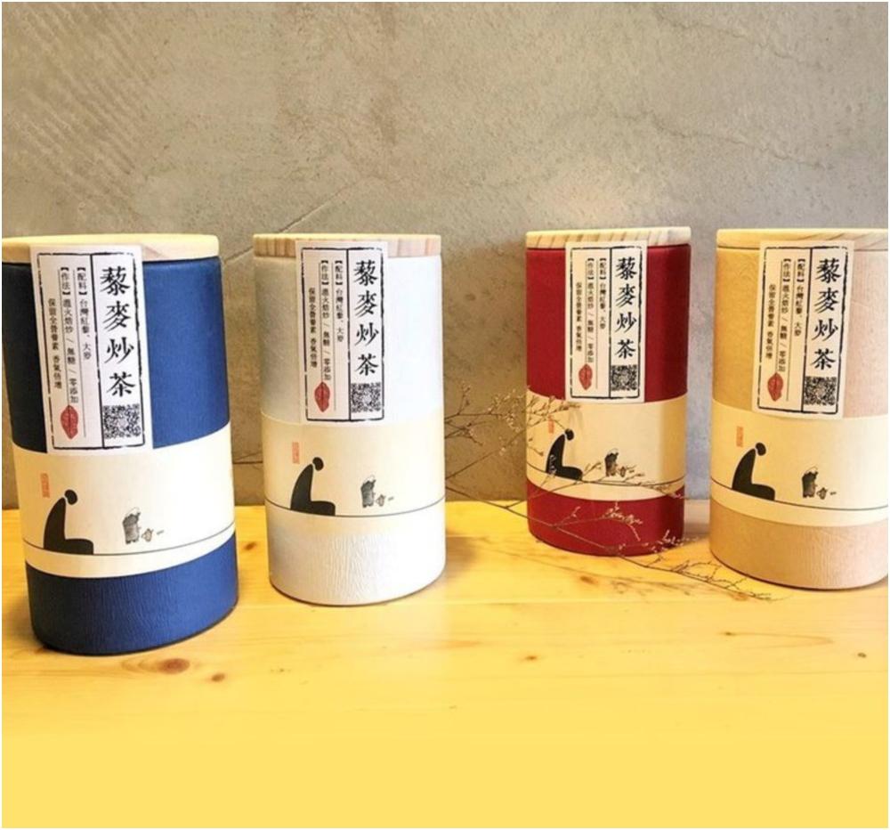 藜麥炒茶 靜心茶罐