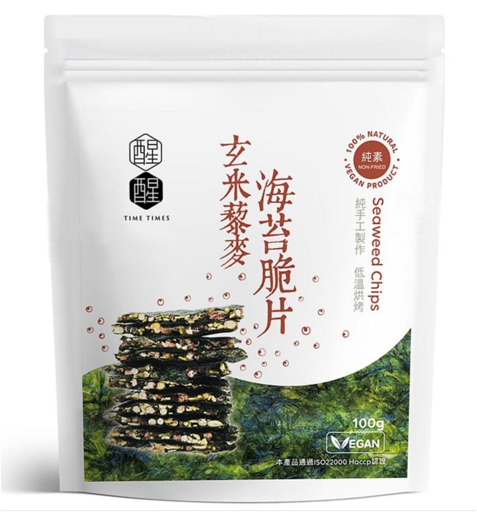玄米藜麥海苔脆片