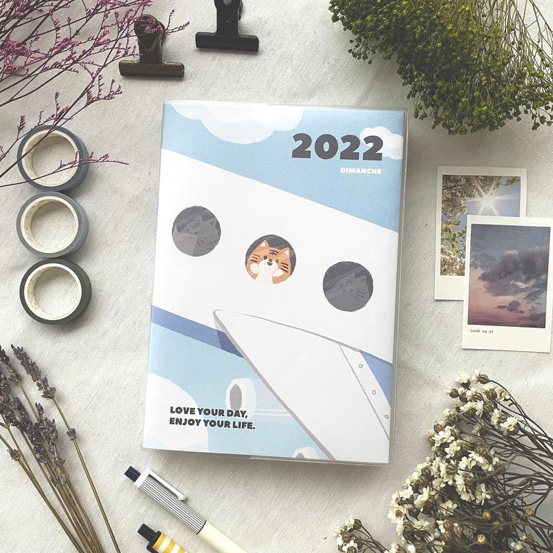 迪夢奇 2021 Stationery 時效週誌 2022手帳