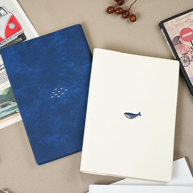 日本 2022 鯨魚大海 月週計劃時間規劃手帳