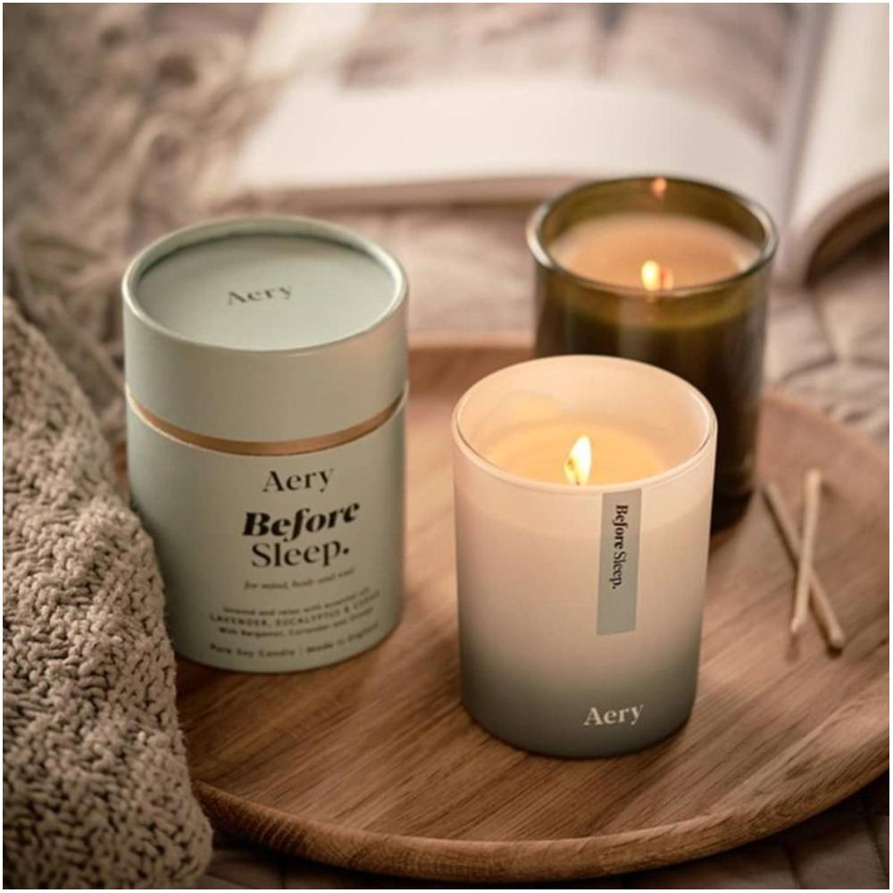 安眠芳療香氛蠟燭(按上圖訂購)