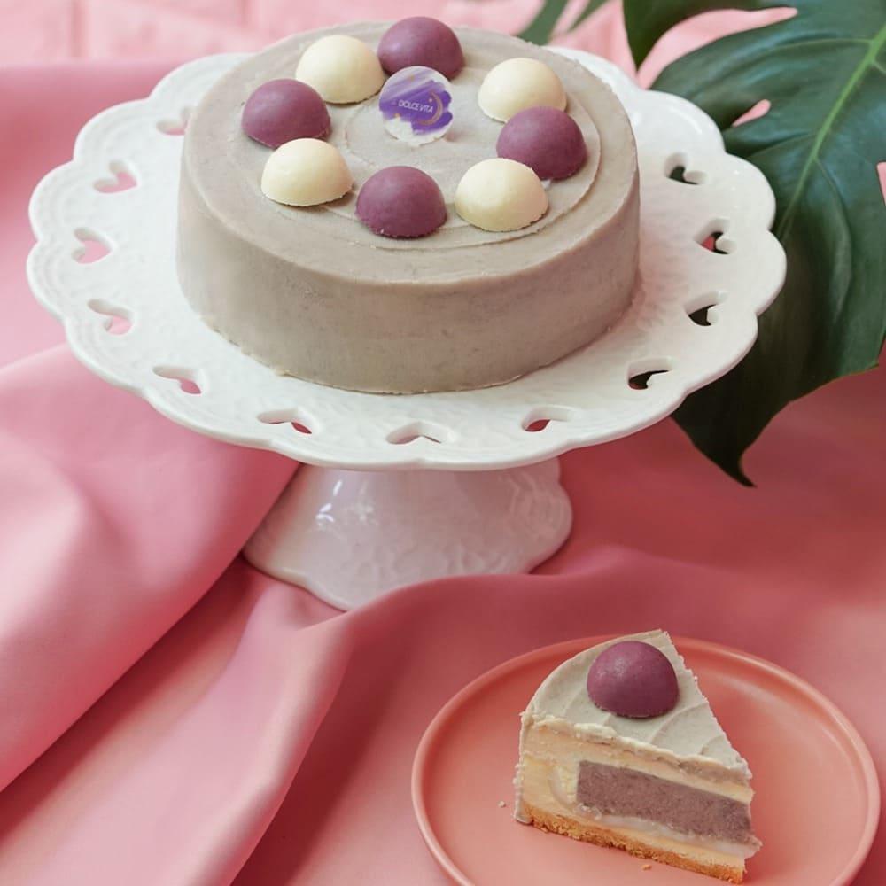 2021 網購芋頭甜點蛋糕:母親節蛋糕 減糖芋頭重乳酪,可宅配