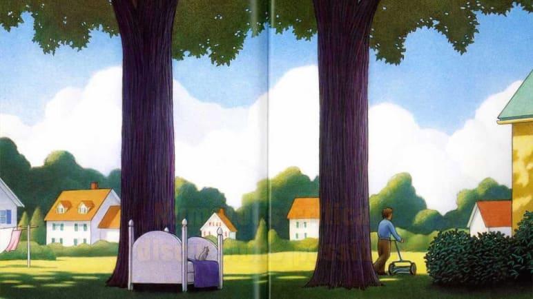 適合大人小孩讀,有意義的繪本「僅僅是個夢」