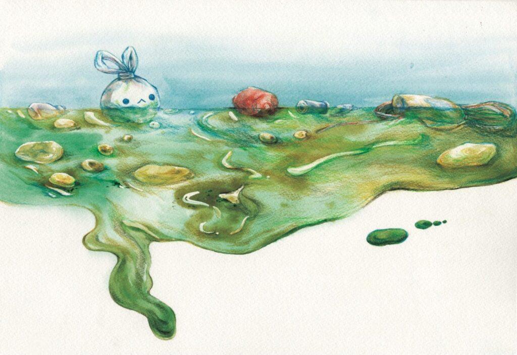適合大人小孩讀,有意義的繪本「塑膠小兔的冒險」