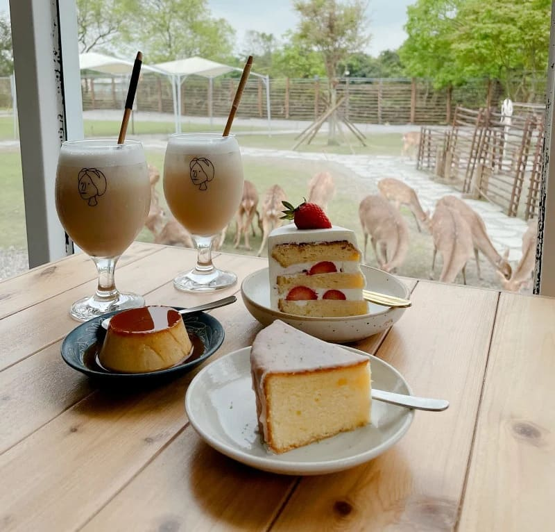 宜蘭美食, 美美子咖啡甜點