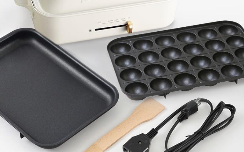 2021 必買日本小家電:bruno電烤盤 章魚燒烤盤 烤盤配件