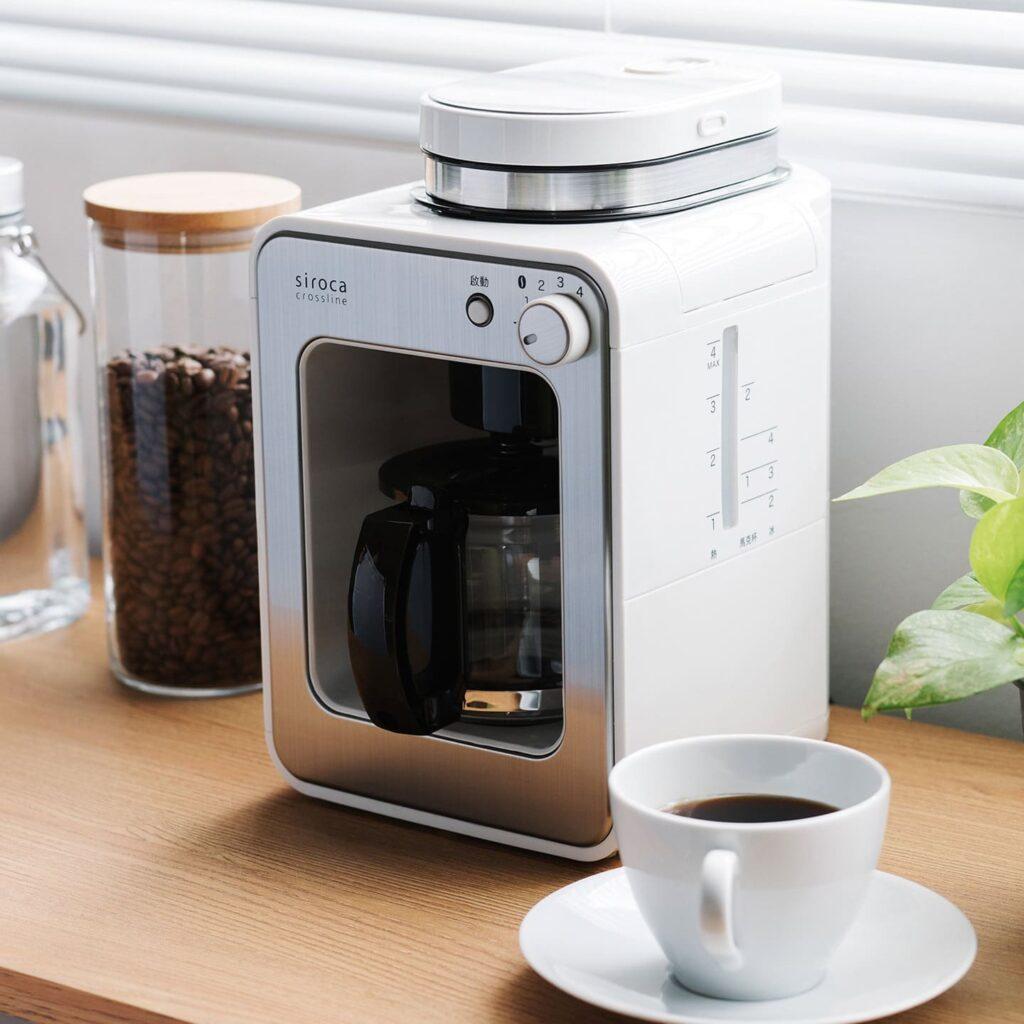 2021 必買日本小家電:研磨咖啡機 siroca