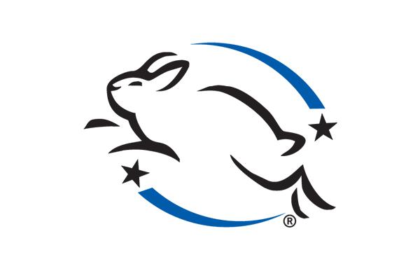 無動物實驗標章:Leaping Bunny