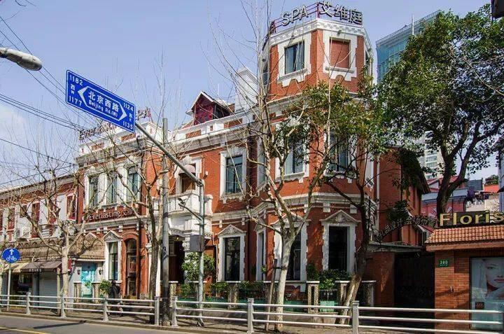 上海陝西北路及康定路