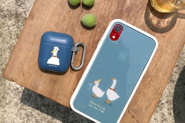客製化手機殼:呆萌的鴨鵝真的超療癒