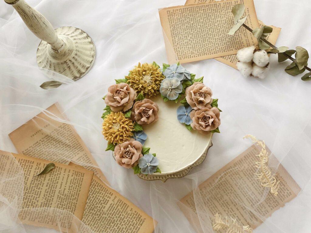 母親節行程推薦:韓式裱花蛋糕課程,初學者也能上手
