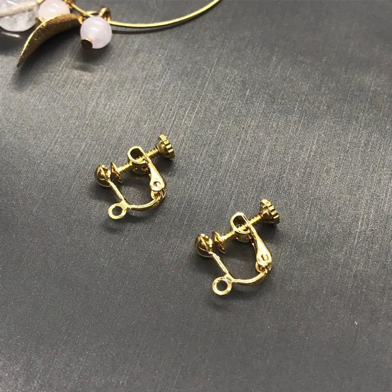 螺旋夾式耳環