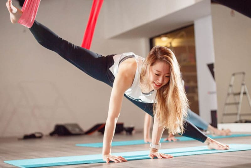 台北空中瑜珈教室、課程推薦:PAF 運動空間
