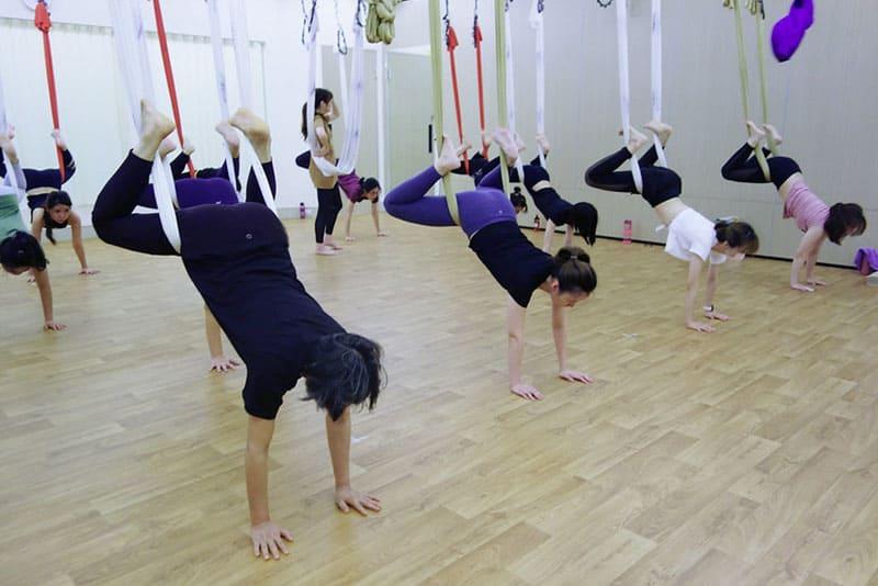 台中空中瑜珈教室、課程推薦:Fly High Yoga