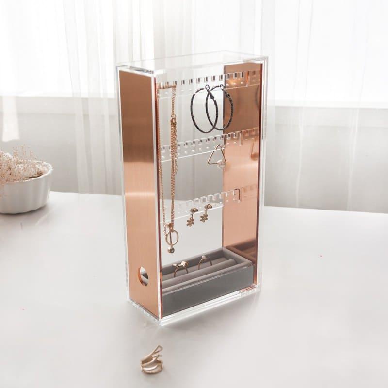 飾品收納盒推薦:透明飾品盒