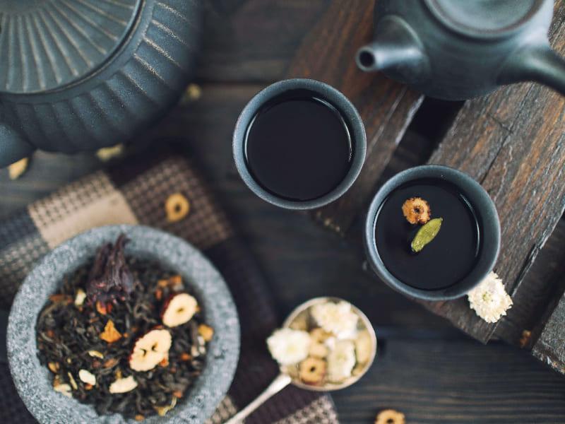 養生茶基於中醫藥食同源理論製成