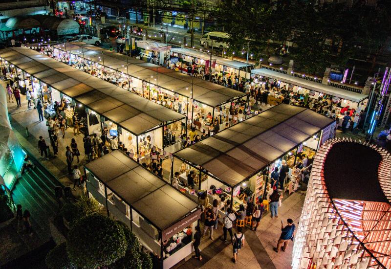 一年一度的曼谷設計師週 Bangkok design week 聚集了超過 2000 名設計師。