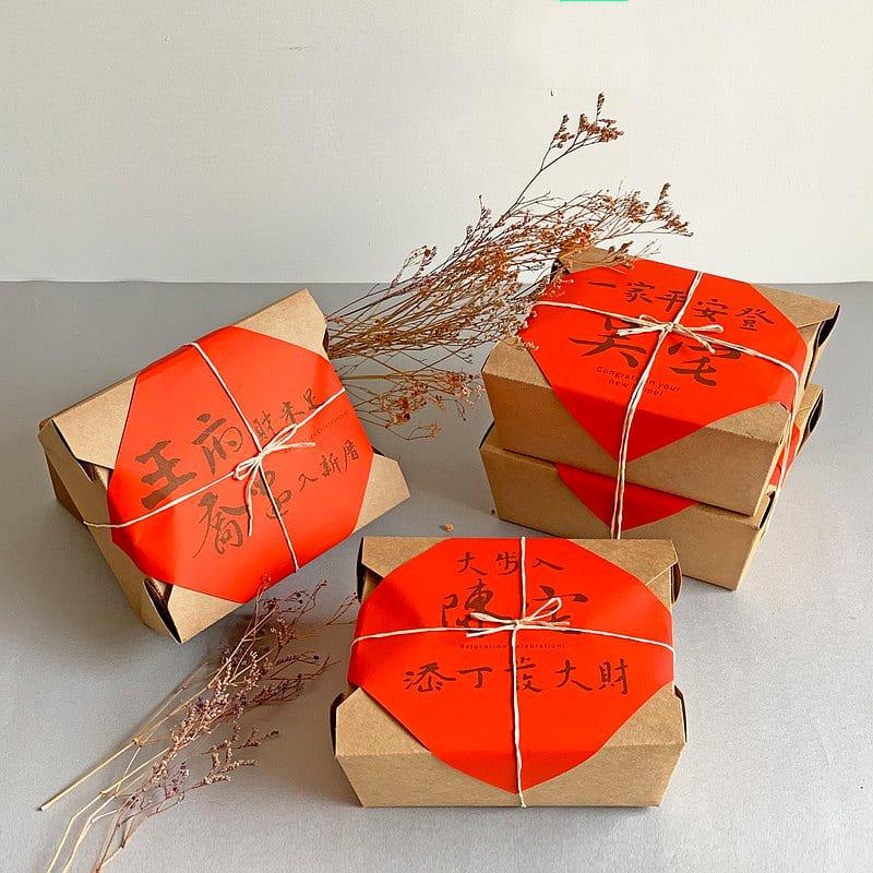 客製化入厝米禮盒